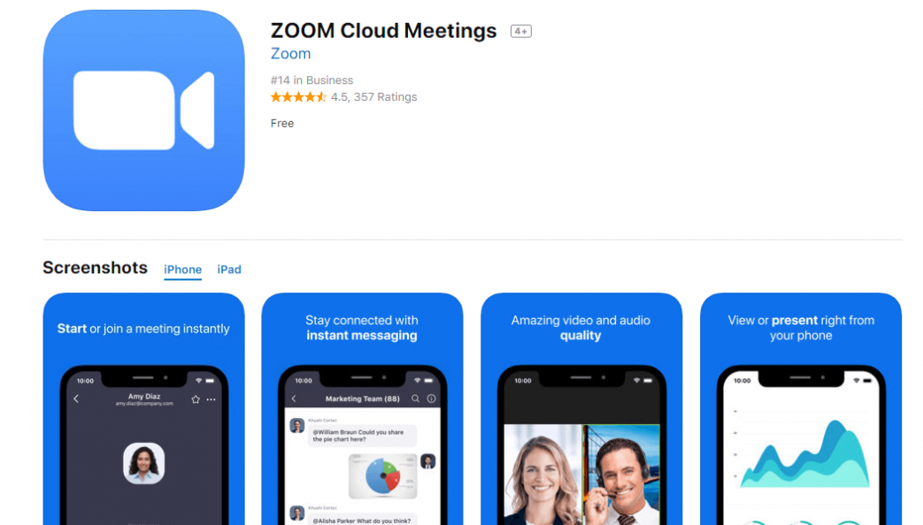 ZOOM Cloud Meetings Review - Best Cloud Software for Conference