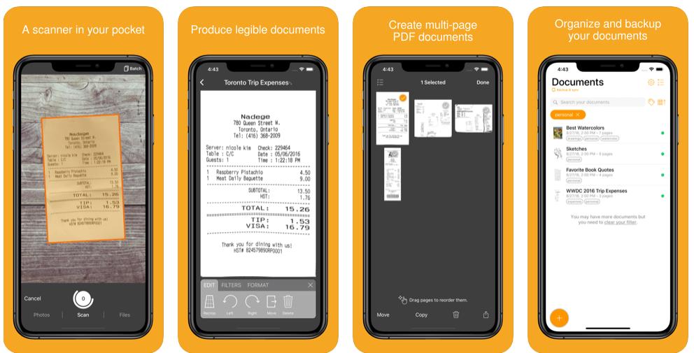 Genius Scan - Perfect Document Scanner App