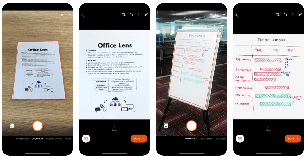 Microsoft office lens - PDF Scanner App