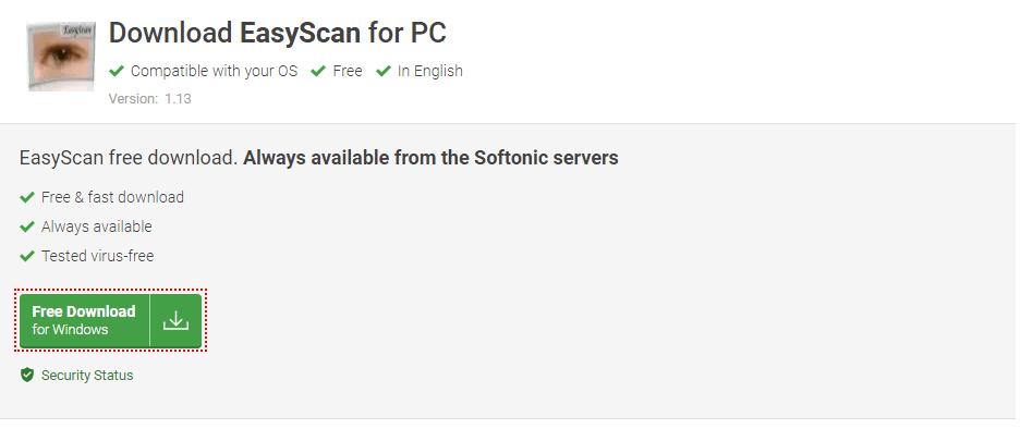 Easy Scan - Image Scanner Software