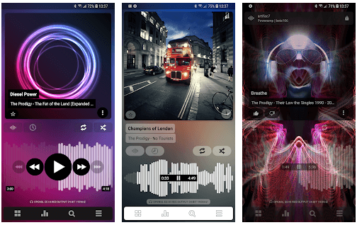 Poweramp (Equalizer App for Android)