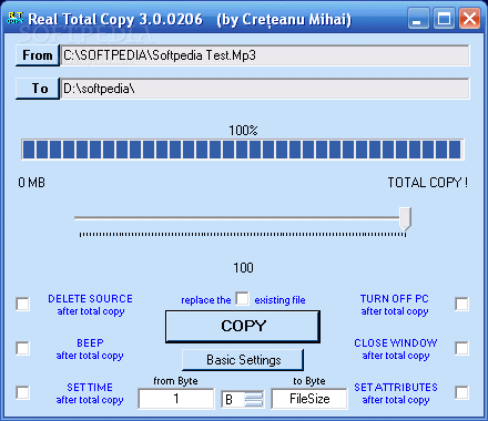 Real Total File Copy Software