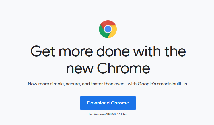 fastest browser for windows - google chrome