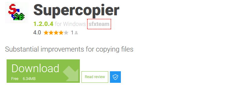 supercopier file copy software