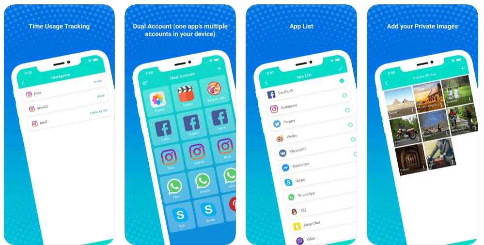 Dual Accounts – Multiple Social