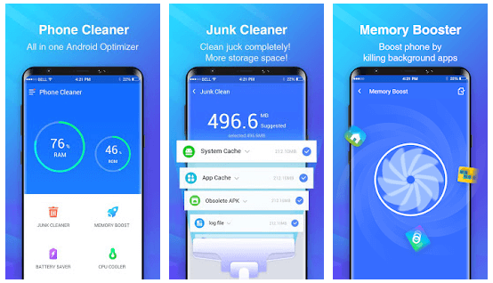 CleanMaster Alternatives -Phone Cleaner for Android