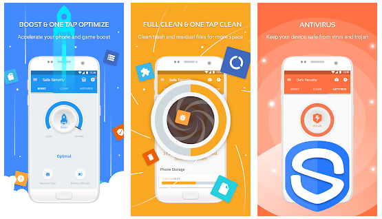 Safe-Security - Android CleanupMaster
