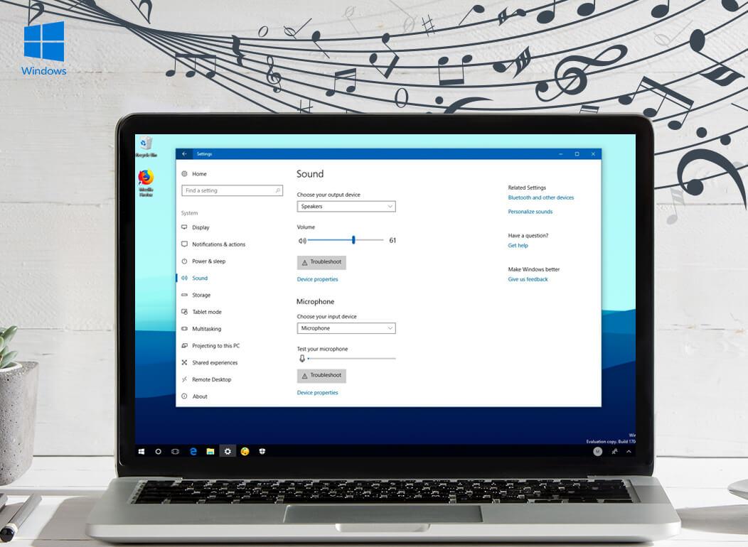 Manage Audio Setting in Windows PC