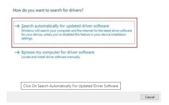 search-automatocally-to-update-driver