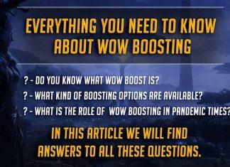 WoW boosting