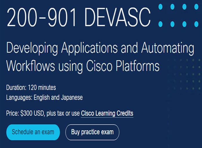 Cisco 200-901 Exam